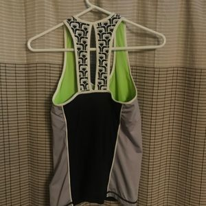 Trina Turk workout tank from Scottsdale boutique.